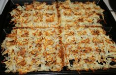 The Fastest, Easiest, Crispiest Hash Browns Ever - made in a waffle maker