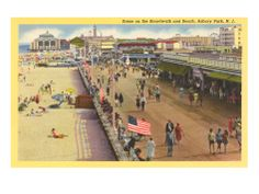 So many memories  Boardwalk, Asbury Park, New Jersey Remember Taylor's Pork Roll on the boardwalk??!!