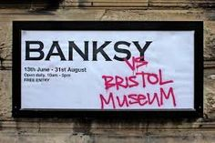 OUR STORY PIN 12 - Banksy vs Bristol Museum, Bristol The best show of any kind I've ever been to, a surprise around every corner and even in three visits didn't get to see everything. Banksy, Bristol Museum, Urban Art, Street Art, Colours, Image, Corner, Mood, Amazing