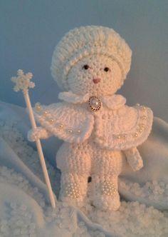 Sneeuw prins handmade by annie