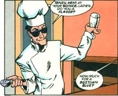 DC Comics has rebooted LEGION OF SUPER-HEROES like 14 thousand times. In one reboot, Tenzil never became an actual superhero but instead hung around Legion Headquarters as their chef. Lame.