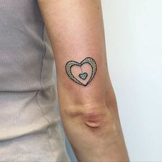 Pin for Later: 28 Adorable Tattoos That Are Appropriate For Work Spotted Heart