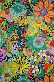 Materialise is a Perth-based textile art studio and retailer, specializing in Liberty and exclusive Japanese fabrics. Kunst Inspo, Art Inspo, Motif Vintage, Vintage Fabrics, Floral Prints, Art Prints, Block Prints, Linocut Prints, Floral Fabric