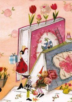 Silke Leffler (postcard)
