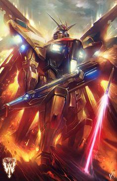 Gundam by Ceasar Ian Muyuela