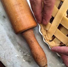 Torta de pêssego.