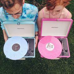Listen up, boys and girls. #crosley #vinyl
