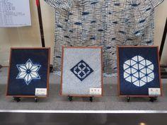 Stunning  display of Shibori in the Arimatsu Shibori Museum, the work of Yoriko Koshino. Her techniques were complex and beautiful | Janice Gunner in Japan