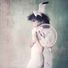 Model: Dusana Mazorova Dress: Petra Pršová Make up: Jarka Vladyka Hair style: Iwa Mahu Hermanova