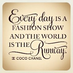 Check out the runway at the purse for change event, show off those fabulous purses you bought!