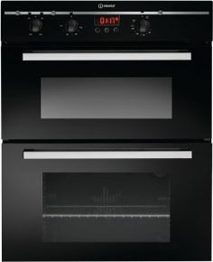 Buy Indesit Advance Double Built Under Electric Oven - Black Built In Ovens, Electric Oven, Kitchen Appliances, Cooking, Building, Stuff To Buy, Argos, Shopping, Argo