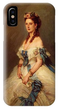 "New artwork for sale! - "" Alexandra Princess Of Wales IPhone X Case by Winterhalter Franz Xaver "" - https://ift.tt/2mOnsSK"