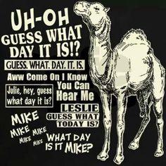 Wooop hump day