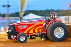 At the NTPA Regional Tractor and Truck pull at the Gaffney Peach Festival, Gaffney, SC on July Truck And Tractor Pull, Tractor Pulling, Truck Pulls, Old Tractors, Case Ih, International Harvester, Good Ole, Heavy Equipment, Rigs