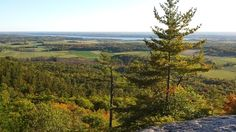 View from the Wolf Trail in Gatineau Park, in Candada. Check out our website for 5 Budget Friendly Canadian Getaways For 2017