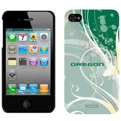 Oregon Ducks Swirl iPhone 4/4S Case.