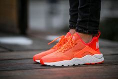 Nike Wmns Air Huarache Run Ultra ''Bright Mango'' (819151-800) - http://goo.gl/NZ5Xzy