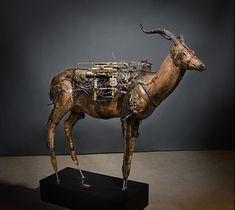 Le très bel univers de Ron Pippin -Blog Graphiste / Sculptures, photos, Ver & Vie….