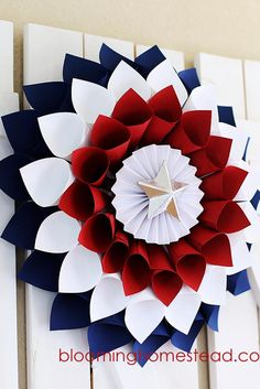 Creative Ideas for the 4th of July Decorations ★ See more: http://glaminati.com/ideas-4th-of-july-decorations/