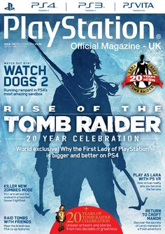 Official #PlayStation Magazine 126. Rise of the Tomb Raider!