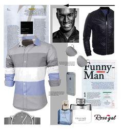 Rosegal 81 by marinadusanic on Polyvore featuring Skagen, Yves Saint Laurent, Incase, Montblanc, Calvin Klein, men's fashion and menswear