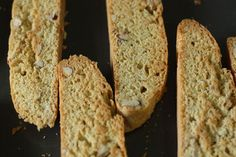 There is nothing like dessert for breakfast. While I'm normally not a huge biscotti fan due to the fact that they tend to have the texture of cement, these almond biscotti were like little breakfast cookies. A bit crunchy, but still with some moisture to them, sweet but not too sweet, and perfect for dipping …