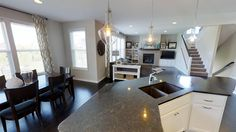 Open floor plan is perfect for entertaining and everyday family living.