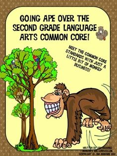 Turn your review of the common core language arts standards into a little monkey business, with this 20 page common core packet! Your students will learn about monkeys and apes as they address and review common core standards. Activities cover informational text, language skills, literature and writing skills. This packet is perfect for test prep or daily practice. $