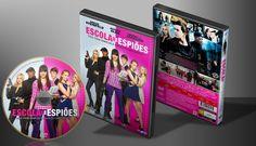 Escola De Espiões - Capa | VITRINE - Galeria De Capas - Designer Covers Custom | Capas & Labels Customizados