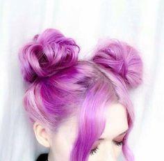 Space hair - 28 images - the best of galaxy hair and space h Galaxy Hair, Chic Hairstyles, Anime Hairstyles, Coloured Hair, Grunge Hair, Purple Hair, Pastel Purple, Hair Dos, Dyed Hair