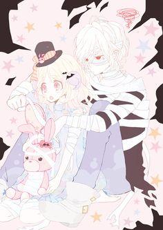 Tags: Pixiv, Diabolik Lovers ~Haunted dark bridal~, Sakamaki Subaru, Komori Yui, Pixiv Id 680205
