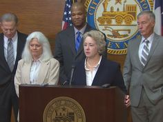 Houston City Attorney and a woman for the first time...
