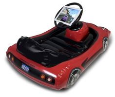 Amazon.com: CTA Digital Inflatable Sports Kart for iPad: Toys & Games