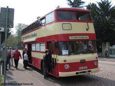 Bahnen und Busse - Doppeldecker-Bus Büssing Jumbo - Foto und Elektronische Postkarte