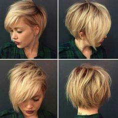 Modne krótkie fryzury 2018 damskie