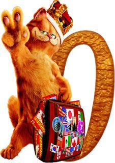 Alfabeto de la película de Garfield 2.