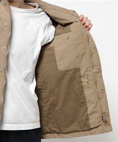商品詳細 - SC: SHIPS(シップス) ナイロン BDU ジャケット (ミリタリージャケット) / SHIPS(シップス)|シップス公式通販サイト|SHIPS ONLINE SHOP Raincoat, Jackets, Fashion, Rain Jacket, Down Jackets, Moda, Fashion Styles, Fashion Illustrations