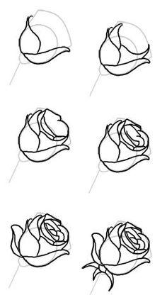 így rajzolj rózsát