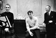 Inga Swenson, Robert Horton and Record Producer George Marek, 110 In The Shade | The Official Masterworks Broadway Site