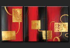 Cuadros Abstractos Modernos En Acrilico  Texturados-relieves Multi Canvas Painting, Abstract Canvas Art, Diy Canvas Art, Diy Wall Art, Diy Art, Dining Room Wall Art, Modern Canvas Art, Art Abstrait, Texture Painting