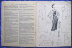 vintage HASLAM SYSTEM of DRESSCUTTING drafting system sewing pattern book No.32 | eBay