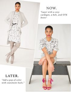 How to Wear Prints Now and Later | Along the Row