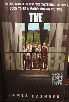 New Maze Runner book cover - I hate when they change the cover of the book to the movie