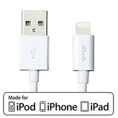 JETech® Apple Certifié Sync Data USB câble charge pour iPhone 6/6 Plus/5/5S/5C, iPad 4, iPad Mini, iPad Air (Longeur 100cm Blanc) JETech http://www.amazon.fr/dp/B00HV6LP00/ref=cm_sw_r_pi_dp_Fr35vb19DNCMN