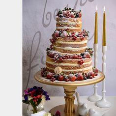 Beyaz Fırın - düğün ve nişan - naked cakes koleksiyonu - tiffany