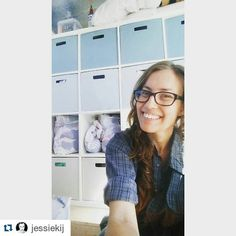 #Repost #throwback  SHAMELESS S[H]ELFIE. Yeah I went there. For a girl with a minor case of self diagnosed #OCD #organizing my #closet is a #joy! #puntastic  #bus #busconversion #RV #ontheroad #offthegrid #instyle #sustainability #tinyhousemovement #livingthedream #design #building #rvlife #skoolie #vanlife #buslife #motorhome #wanderlust #explore #diesel #trailblazer #tinyhouse #vagabond by greenbehindthegears