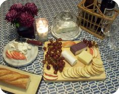 Sweetie Pie Style: At Home Date: Cheese & Wine Tasting Cheese And Wine Tasting, Wine And Cheese Party, Romantic Ideas, Romantic Dates, Date Dinner, Love And Marriage, Finger Foods, Dinner Ideas, Special Occasion
