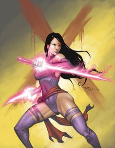 The Blades of Psylocke