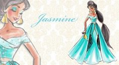 disney princesas imagens disney Designer Princesses: Jasmine wallpaper and background fotografias