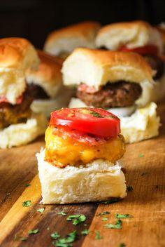 Mini Tandoori Burgers - Perfect For a Summer BBQ